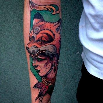 Tatuaje bruja india
