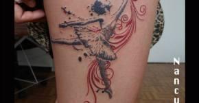 Tatuaje bailarina de ballet