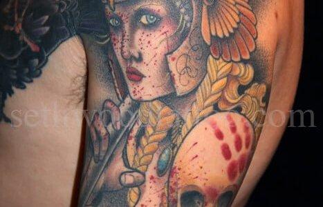 Tatuaje Valkiria