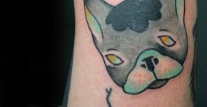 Tatuaje de Bulldog francés