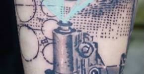 Tatuaje microscopio