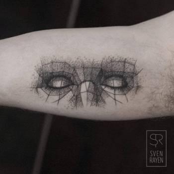 Tatuaje ojos de mujer