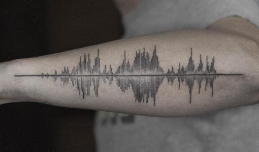 Tatuaje onda sonora