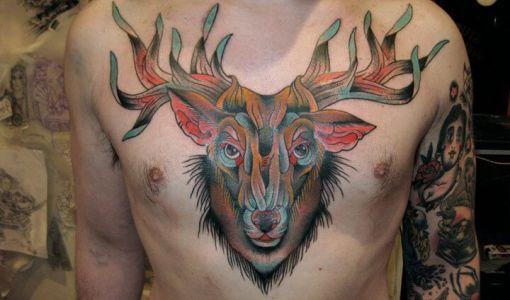 Tatuajes De Venados Archives Tatuajesxd