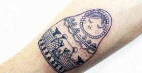 Tatuaje Matrioska