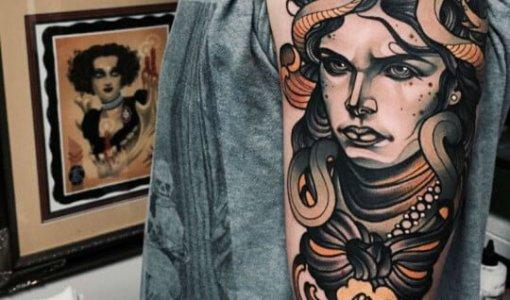 Tatuaje de Medusa