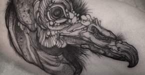 Tatuaje de pájaro dodo