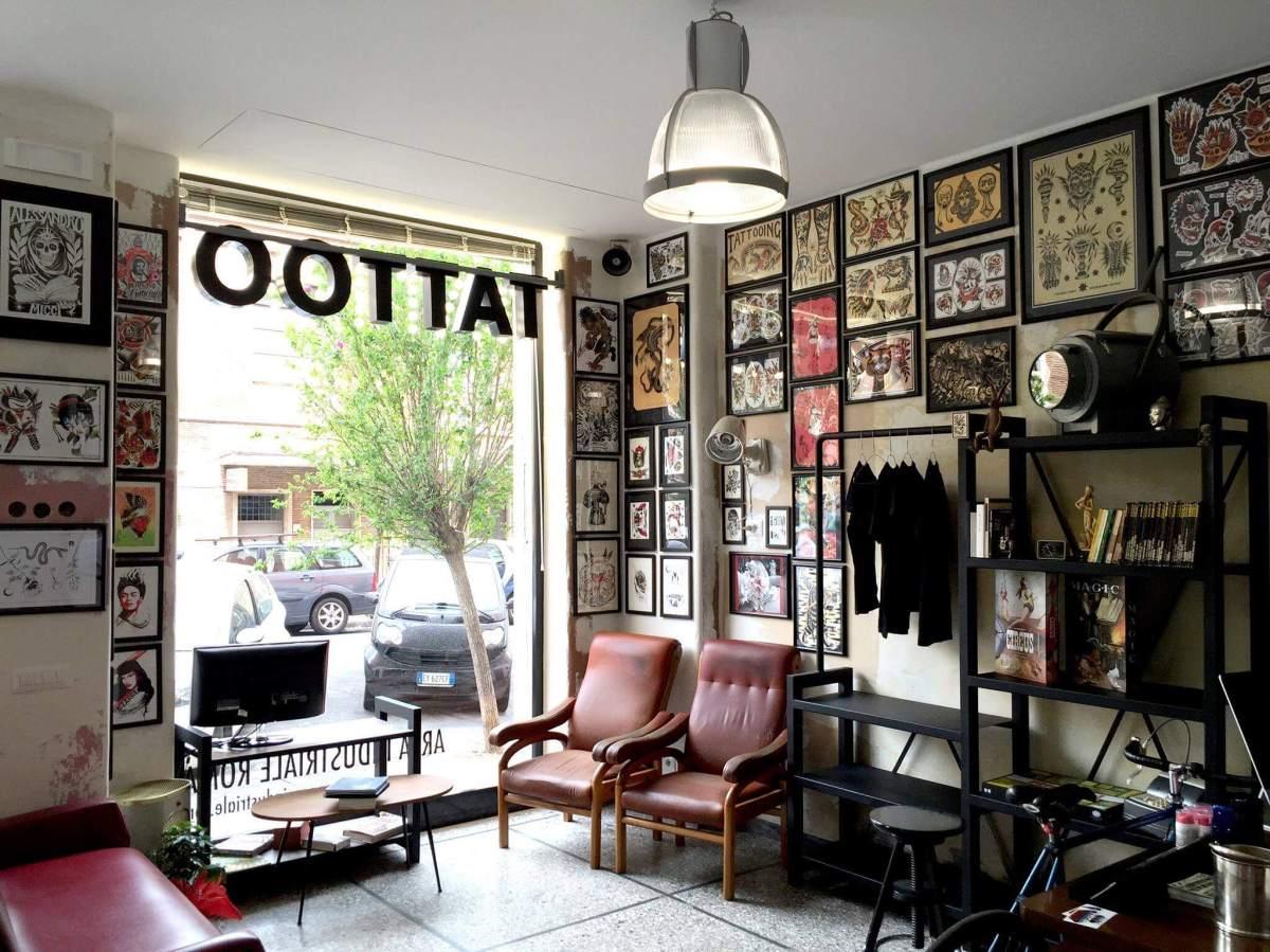 Area Industriale Tattoo Roma