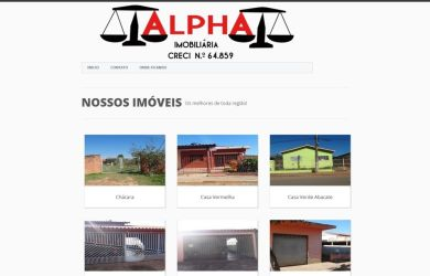 imobiliária alpha capela do alto
