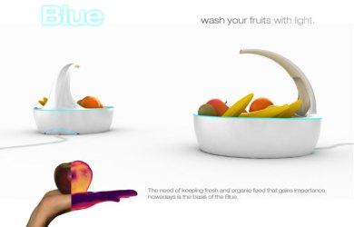 invenções criativas para casa fruteira anti bactéria