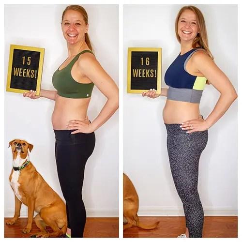 Baby on the Run: Weeks 15 & 16