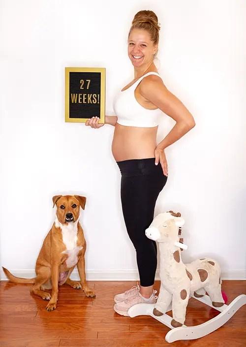 Baby on the Run: Week 27