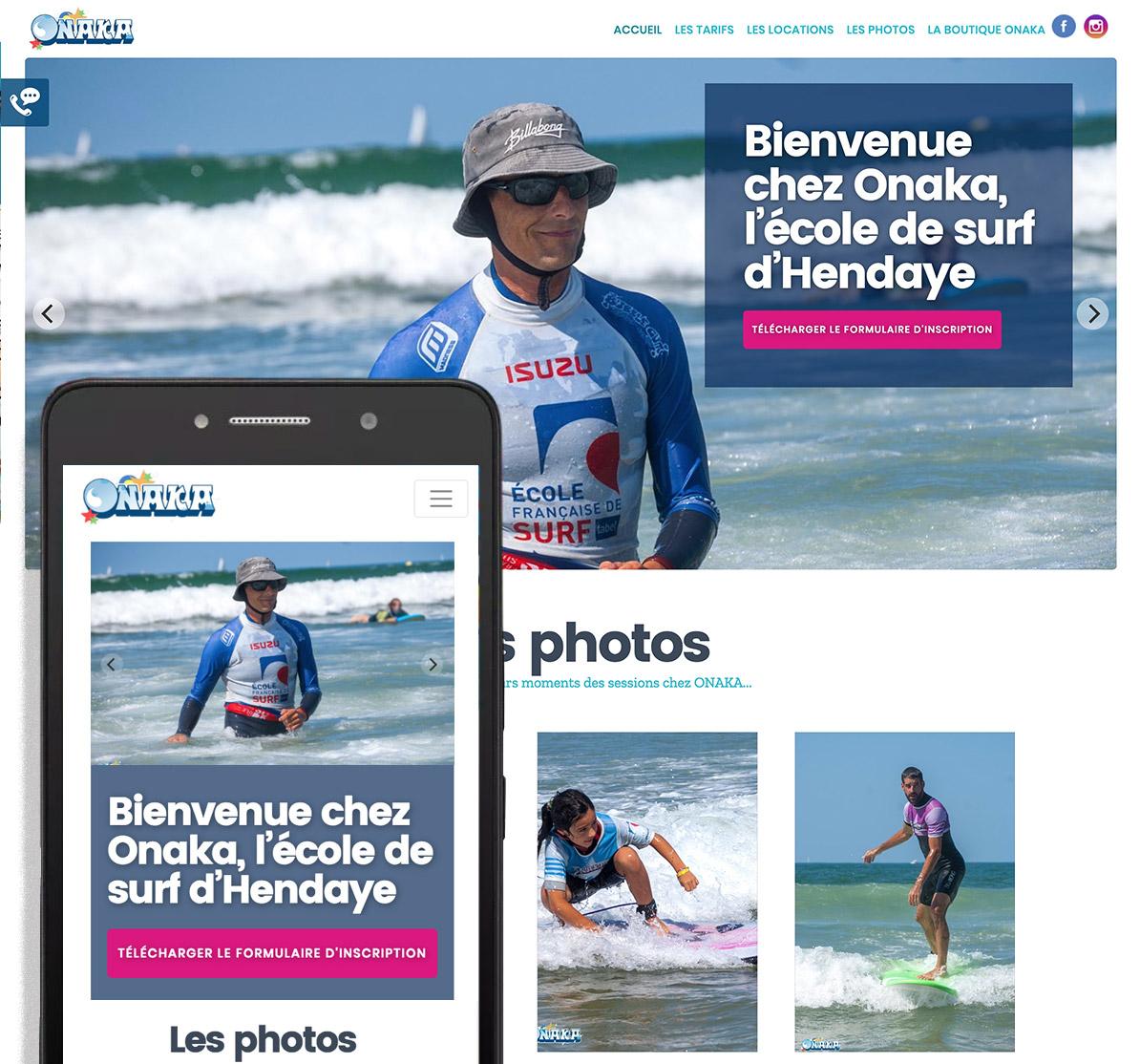 Charlotte Casters Tatziki - web design Onaka