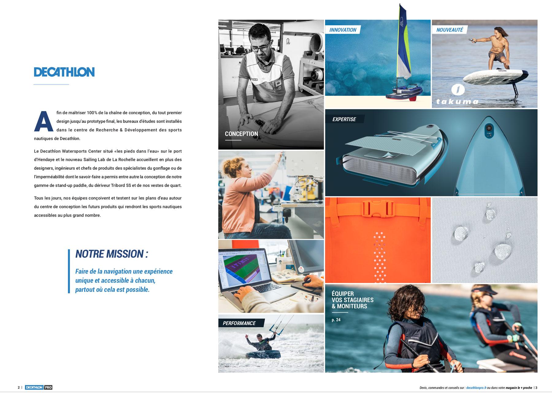 Charlotte CASTERS - Tatziki - Sommaire Catalogue DECATHLON Sports nautiques -2021