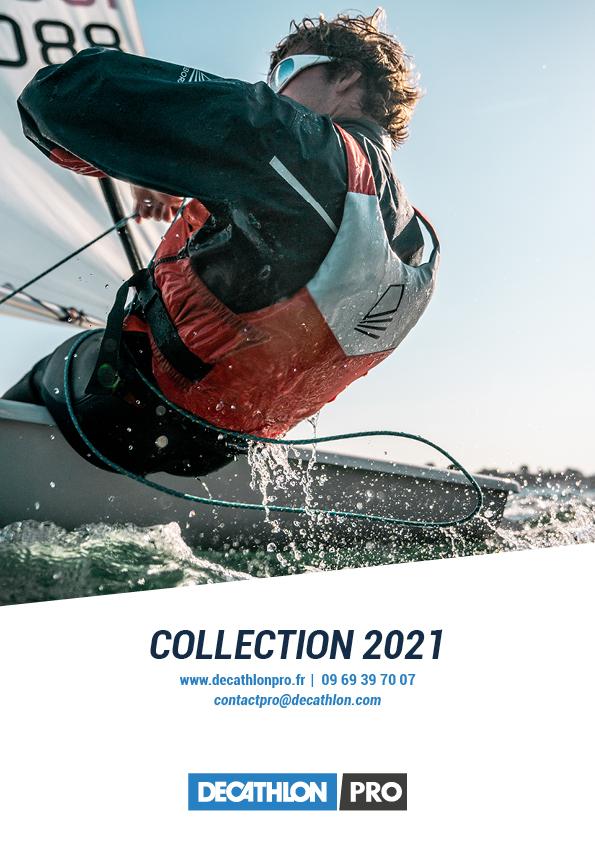 Maquette catalogue Decathlon Tribord - sports nautiques - Couverture Tribord