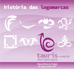 história das logomarcas tauris design logos