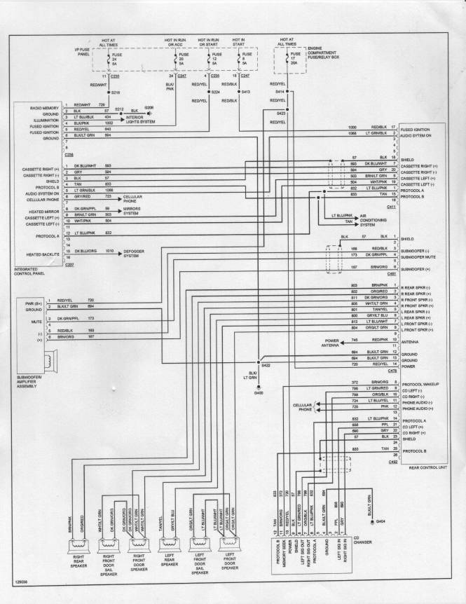 2001 ford explorer radio wiring diagram the wiring wiring diagram for 2000 ford explorer the 2005 ford explorer sport trac