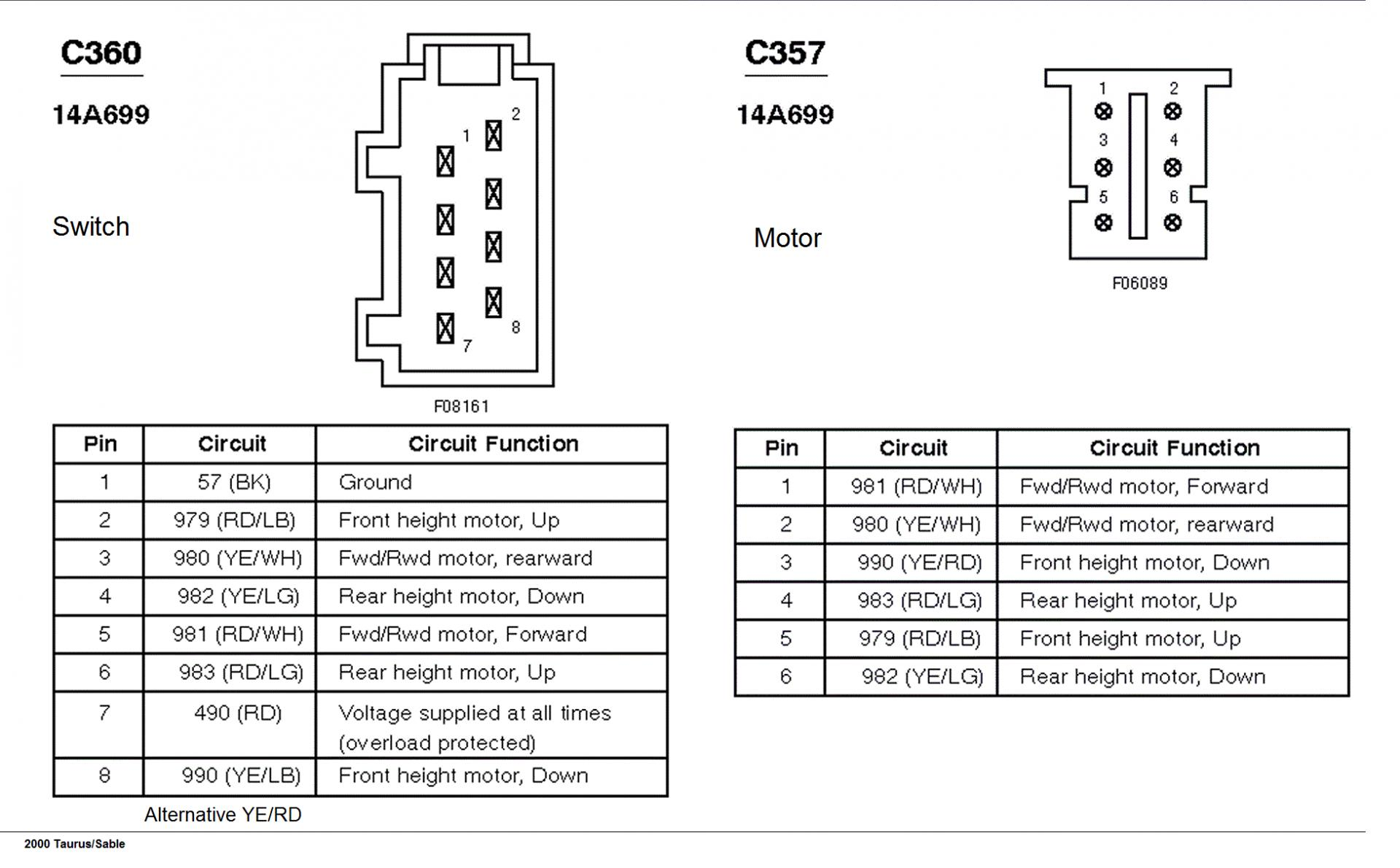 F250 Power Seat Wiring Diagram