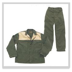 2 tone conti suit overalls