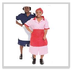 Maids three piece uniforms