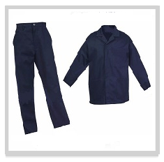 Navy Conti Suit Overalls