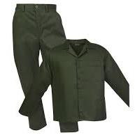 Olive Green Acid Resistant overalls
