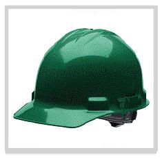 Green Hard Hats