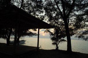 Sonnenuntergang Pulau Menjangan-Kecil