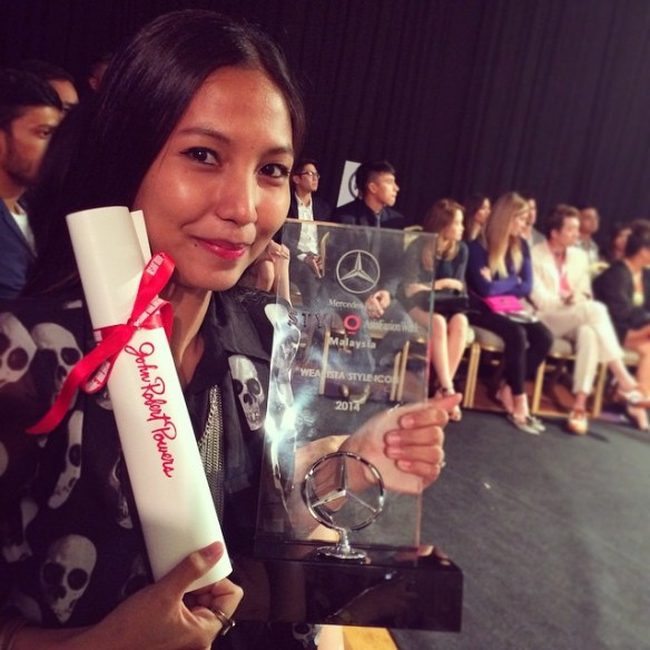 malaysia fashion week, style icon, award winner, celebrity blogger, malaysia fashion blogger, malaysia style icon, ,#mbstyloafw, #mbfw, fashion week, Kuala Lumpur fashion week, KL fashion weekend, wearista award, wearista style icon, wear app,