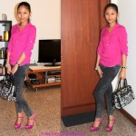 #OOTD:  MOTHER AND DAUGHTER IN PINK
