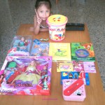 MY DAUGHTER'S BIRTHDAY GIFTS 2012