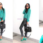 #OOTD: IT'S TEAL TIME!