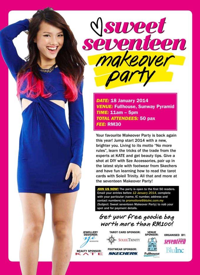 #seventeenmakeover