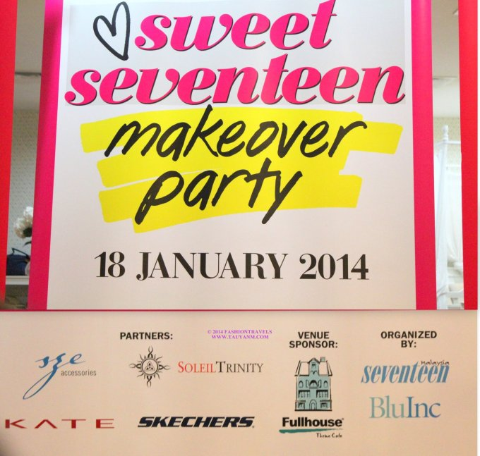 #seventeenmagazine #makeoverparty