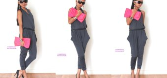 #OOTD: Bow Purse and Jumpsuit