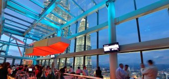 Marini's 57: Malaysia's Highest Rooftop Bar, Lounge & Restaurant