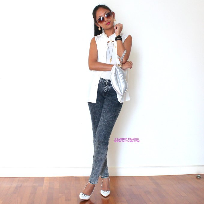 #fashiontravelswwwtauyanmcom #ootd #guess #jeans
