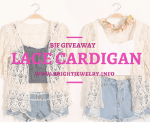 BJF x tauyanm.com Lace Cardigan #Giveaway!