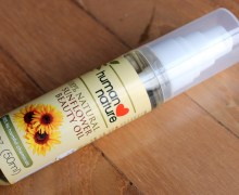#REVIEW: Human Nature Sunflower Beauty Oil
