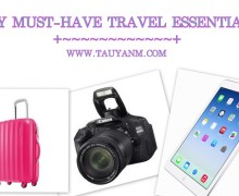 My Top 5 Must-Have Travel Essentials