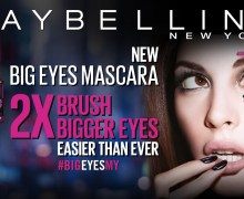 Maybelline #bigeyesmy Launch + Stand a Chance To Win an All-Expenses Paid Makeup Party of your Dreams!