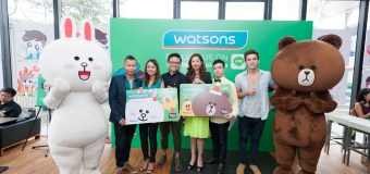 Watsons Malaysia Launches Its Official Account with LINE