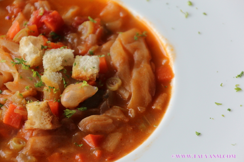 minestrone soup, malaysia food blogger, nouveau 7, french restaurant in malaysia