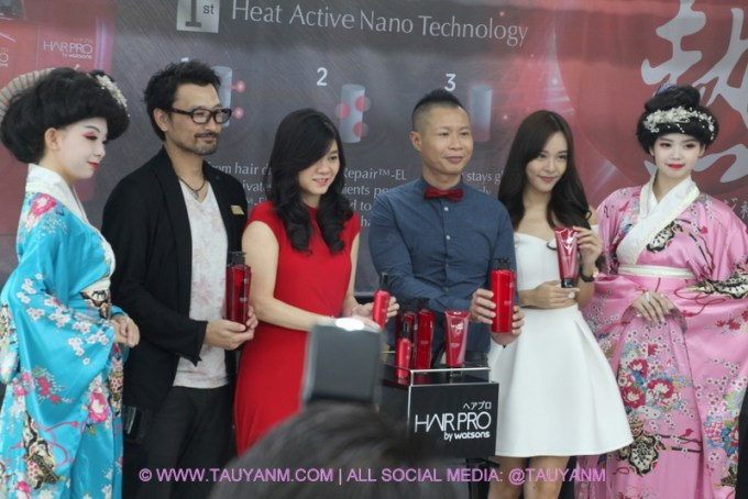 cathryn li, hair pro, number76 salon, watsons, youtuber, vlogging, malaysia blogger