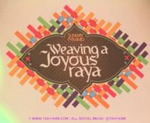 Weaving of Joyous Raya in Sunway Pyramid