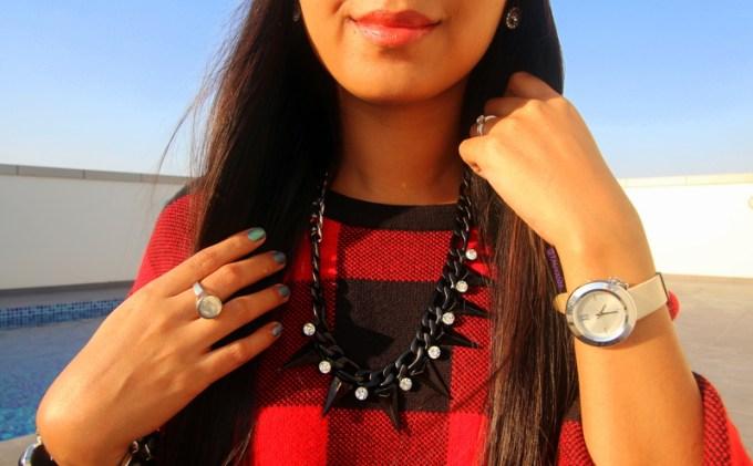 ootd, lookbook, #OOTD: Plaid Sweater Dress, plaid, tartan, sweater, oversized, h&m,