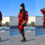 #OOTD: Plaid Sweater Dress