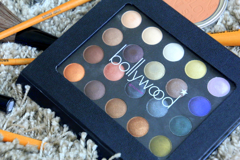 bollywood makeup palette, makeup tutorial, beauty blogger