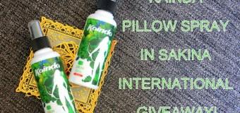 Review: Kainda All Fabric Freshener in Sakina + International GIVEAWAY!