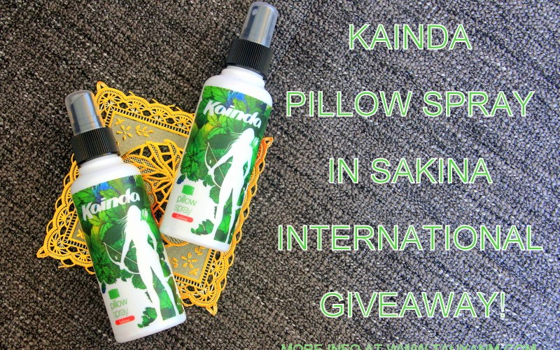 kainda pillow spray review giveaway